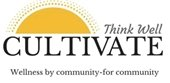 Logo:  Cultivate - Mental Wellness by Community-for Community