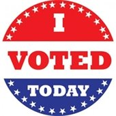 """Badge - """"I Voted Today"""""""