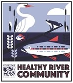 Healthy Rivers Community Sign